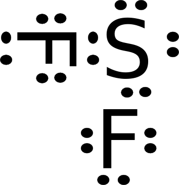lewis structure for sf2